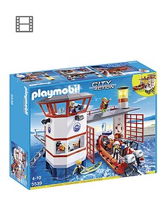 playmobil-5539-coast-guard-station-with-lighthouse