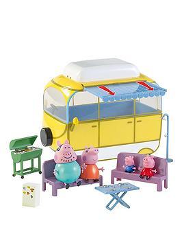 Peppa Pig Tour And Explore Camper Van Playset