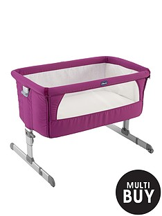 chicco-next-to-me-crib-fuchsia