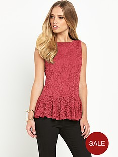 definitions-lace-peplum-top