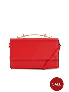 metallic-handle-cross-body-bag-red