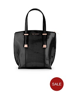 ted-baker-crosshatch-tote-bag