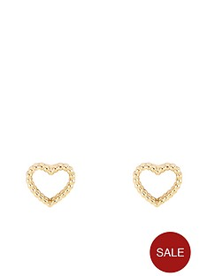 orelia-heart-stud-earrings