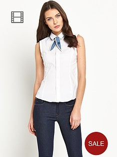g-star-raw-sleeveless-slim-shirt