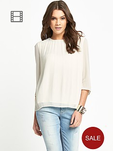 ted-baker-pleated-woven-top