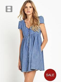 denim-supply-ralph-lauren-button-through-dress