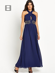 little-mistress-embellished-halter-maxi-dress