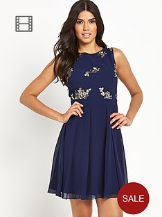 little-mistress-embellished-skater-dress