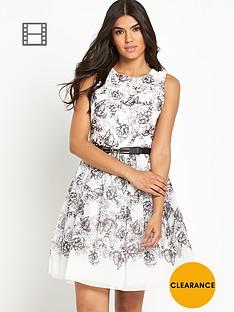 little-mistress-printed-skater-dress