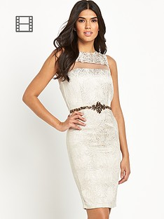 little-mistress-mesh-insert-dress