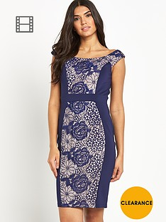 little-mistress-panelled-bodycon-dress