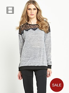 south-lace-shoulder-sweater