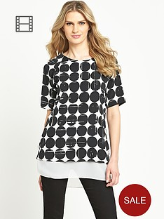 south-printed-tunic-top
