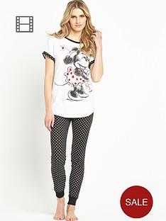 minnie-mouse-minnie-spot-cuffed-pyjamas