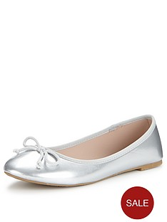 shoe-box-mabel-flat-ballerina-shoes-silver