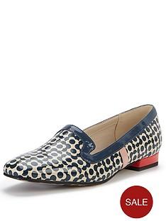 clarks-orla-kiely-bella-low-heel-loafers