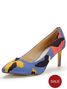 oasis-butterfly-print-court-shoes