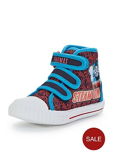 thomas-friends-boys-high-top-plimsolls
