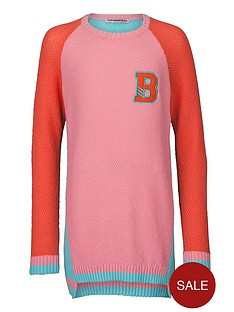 freespirit-girls-loose-fit-colour-block-knitted-jumper