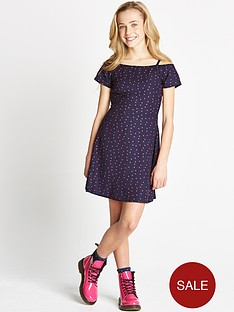 freespirit-girls-bardot-polka-dot-skater-dress