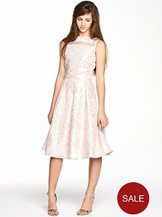 little-misdress-teen-girls-overlay-metallic-dress
