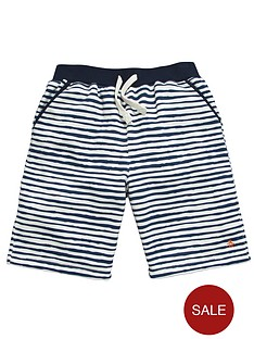penguin-striped-sweat-shorts