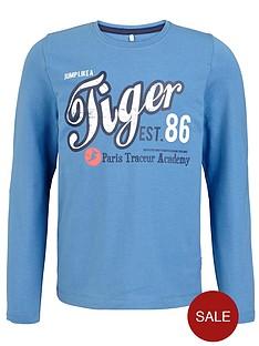name-it-boys-long-sleeve-tiger-slogan-top