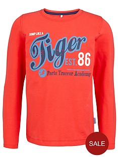 name-it-boys-long-sleeve-tiger-slogan-top