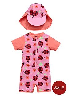 ladybird-toddler-girls-ladybird-sunsafe-and-hat