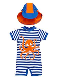 ladybird-toddlers-boys-octopus-sunsafe-and-hat