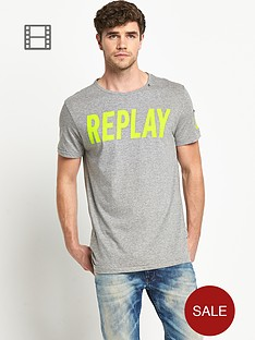replay-mens-logo-t-shirt