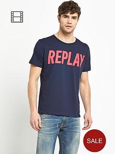replay-mens-logo-t-shirt