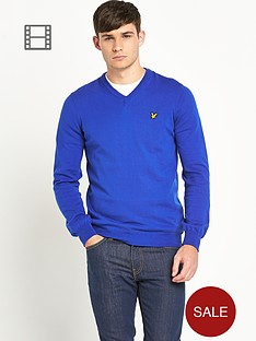 lyle-scott-mens-long-sleeve-v-neck-jumper