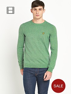lyle-scott-mens-long-sleeve-crew-mouline-jumper