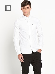 fred-perry-mens-classic-white-oxford-shirt