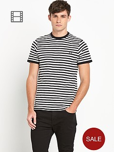 fred-perry-mens-stripe-t-shirt