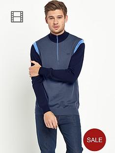 wolsey-mens-contrast-sleeve-knit