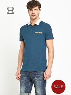 goodsouls-short-sleeve-contrast-smart-pique-polo-top