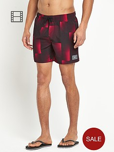 speedo-mens-printed-check-leisure-16-inch-water-shorts