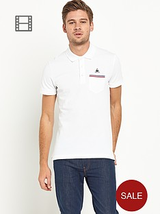 le-coq-sportif-mens-pavot-polo-shirt