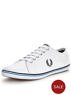 fred-perry-kingston-leather-plimsolls
