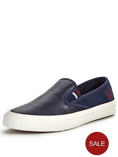 fred-perry-turner-leather-slip-on-shoes