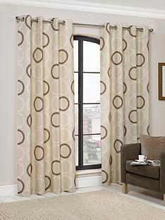 hamilton-mcbride-circles-eyelet-curtains