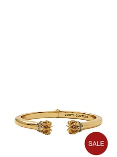 juicy-couture-gold-tone-stone-set-crown-bangle