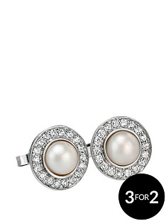 fiorelli-sterling-silver-white-cubic-zirconia-and-freshwater-pearl-earrings