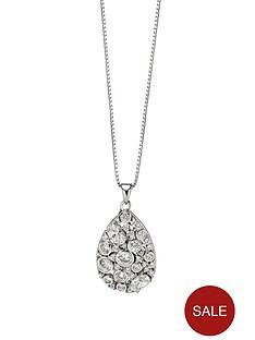 fiorelli-sterling-silver-clear-cubic-zirconia-large-teardrop-pendant