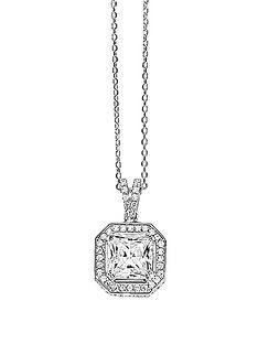 tresor-paris-sterling-silver-white-crystal-square-set-20-mm-pendant
