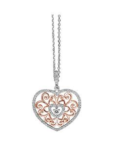 tresor-paris-sterling-silver-and-rose-gold-plated-large-heart-pendant