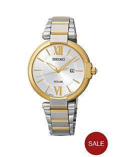 seiko-solar-stainless-steel-and-gold-two-tone-bracelet-ladies-watch