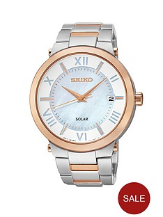 seiko-solar-stainless-steel-and-rose-gold-two-tone-bracelet-ladies-watch